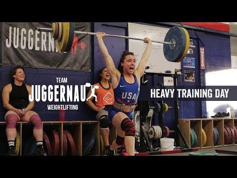 Heavy Training Day with Team Juggernaut   JTSstrength.com