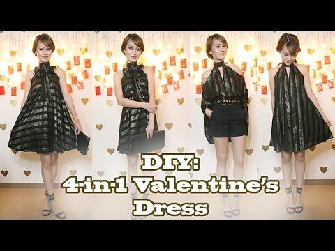 DIY: 4-in-1 Valentine's Date Night Dress