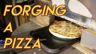 Forging A Pizza