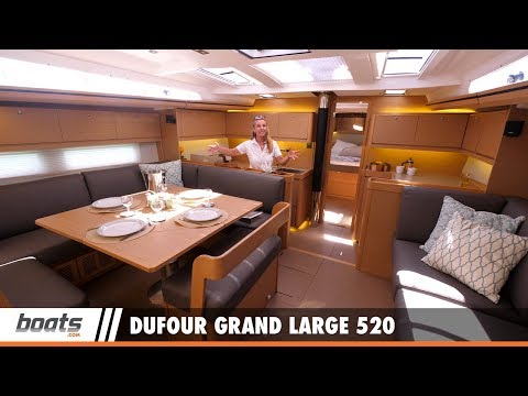 Dufour Grand Large 520: First Look Video