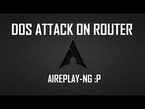 DOS Attack on Wifi Router