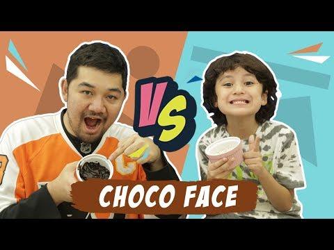 Senam Muka Choco Face bareng Gilang