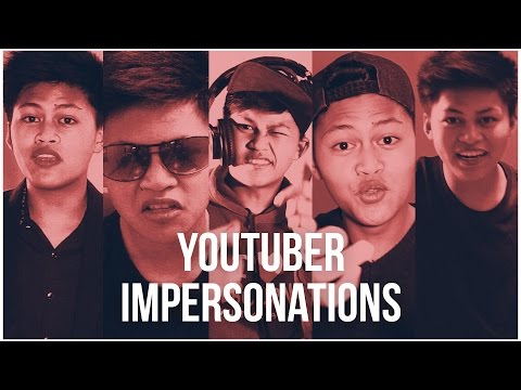 INDONESIAN YOUTUBERS IMPERSONATIONS