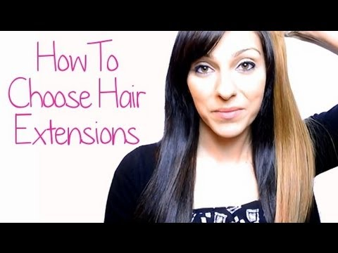 How To Choose Hair Extensions - 5 Tips For Picking Natural Looking Extensions | Instant Beauty ♡