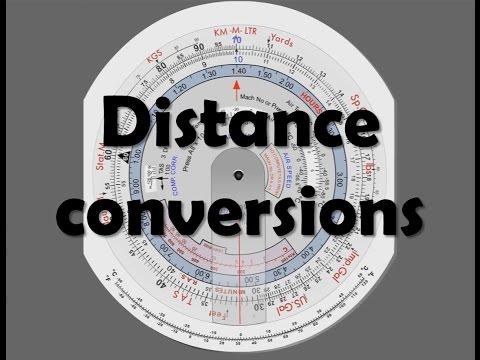 CRP-5: Distance conversions