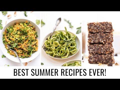 3 *EASY* SUMMER RECIPES | vegan & gluten-free