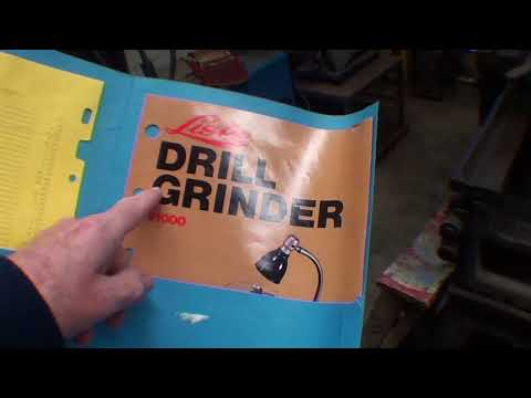 mrpete222 Swaps a DP for a LISLE DRILL GRINDER short ver. tubalcain