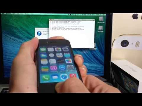 How To Jailbreak iOS 7.1.1 & 7.1 Semi Untethered for iPhone 4 on Mac