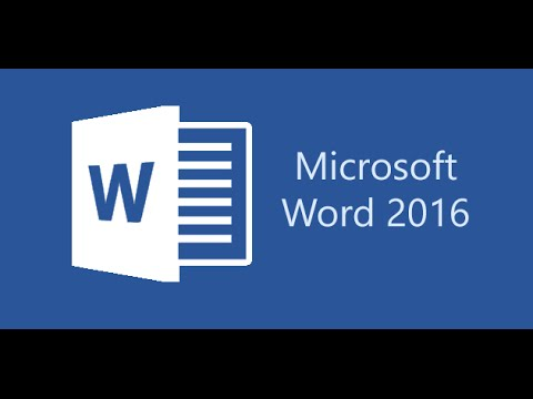 Microsoft Word 2016 Beginner Tutorial  ( How To Create Resume )