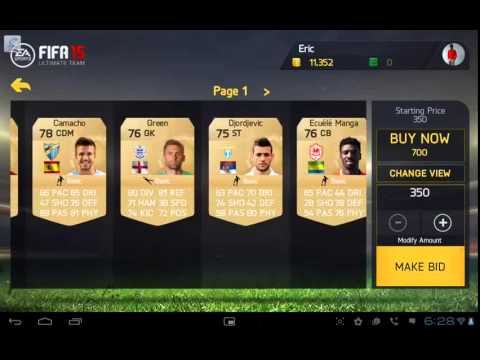 Earn money easy in Fifa 15 ios & android
