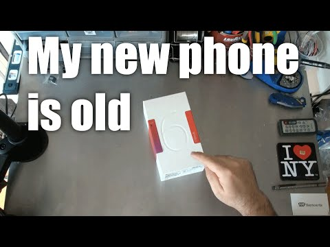 My new phone is an old phone.  It's the Nexus 6!