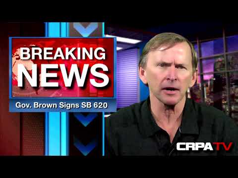 Governor Brown SIGNED SB 620