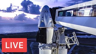 SpaceX's 1st astronaut mission! Crew Dragon #DM-2 launch from historic NASA pad @Saturday 3:22pm ET