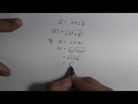 How to Find Modulus of Complex Number (Hindi) | NCERT 11 Class Maths