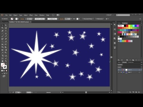 How to Draw a Starry Night Sky in Adobe Illustrator