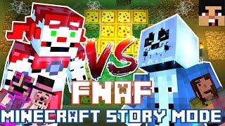 FNAF Sister Location vs Undertale - Minecraft Story Mode Episode 6