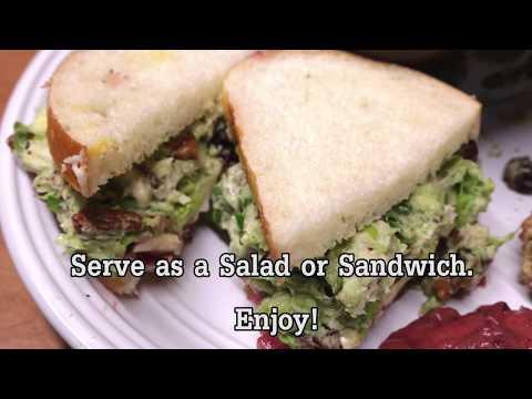 Turkey Avocado Salad Recipe | Rada Cutlery Video