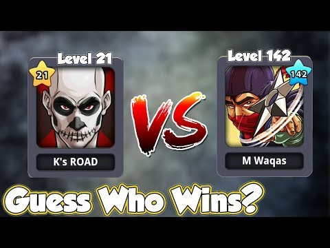 Level 21 V/S Level 142 - K's Road To Billion with All Leagues Top - Episode#4 - 8 Ball Pool