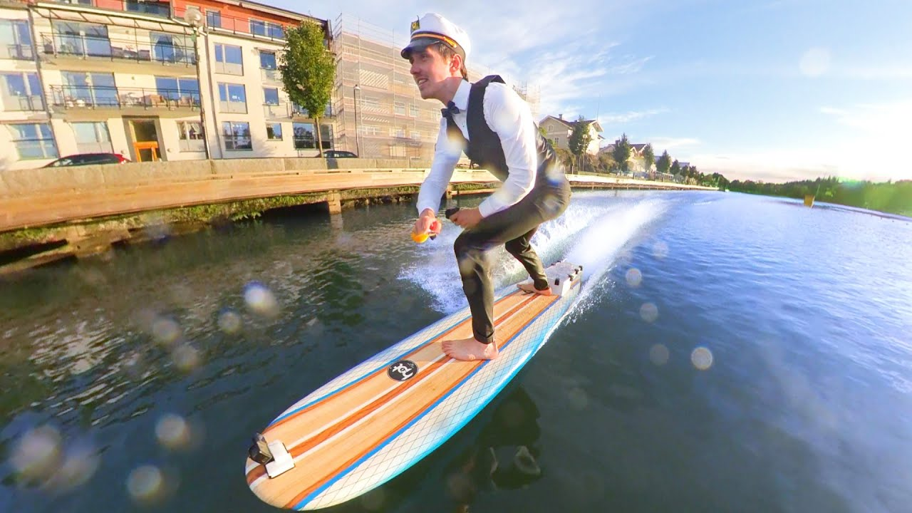 I Made a $3000 Electric Surfboard   - PART 3