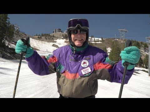 100 Year Old Skier Skis On His Birthday - George Jedenoff
