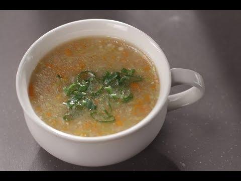 Sweet Corn Vegetable Soup | Sanjeev Kapoor Khazana