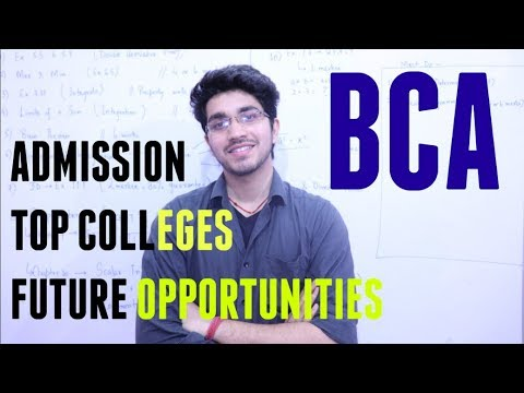 BCA   Career Opportunities   Admission   What to do after BCA   Everything about BCA