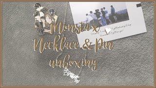 {UNBOXING} MONSTA X Wonho's Necklace & Myself's Pin ♡