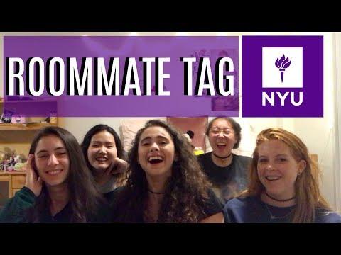 ROOMMATE TAG: Conhecendo Minhas Colegas de Quarto da NYU!