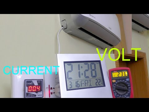 Inverter AC Power Consumption in Idle State/Why to Disconnect power of your Inverter AC