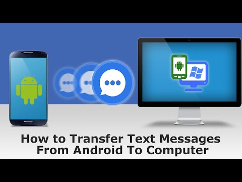 How to Transfer SMS from Android to PC