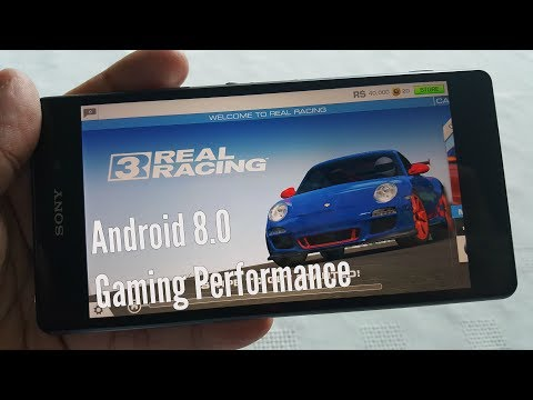 Sony Xperia Z2 Android 8.0 Gaming Performance Test