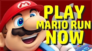 PLAY MARIO RUN TODAY!