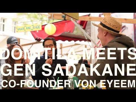Domitila Meets Gen Sadakane | Founder EyeEm Trend Foto-App | Entrepreneurship