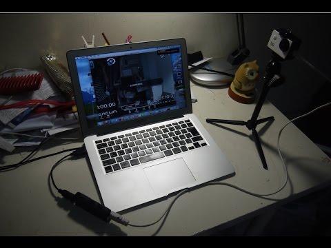 USB HDMI capture card as webcam for MAC zoom meetings ( zoom  cloud meetings) use