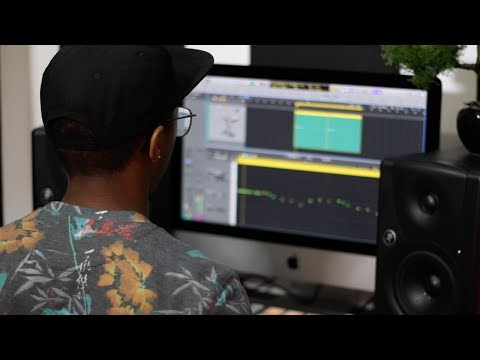 Making A Beat: SICK Trap 808 Bass & Hi-Hat Rolls In Logic Pro X