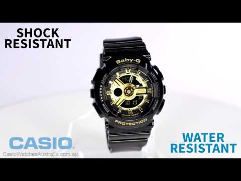 Casio Baby G BA-110-1ADR Watch Overview and Main Features