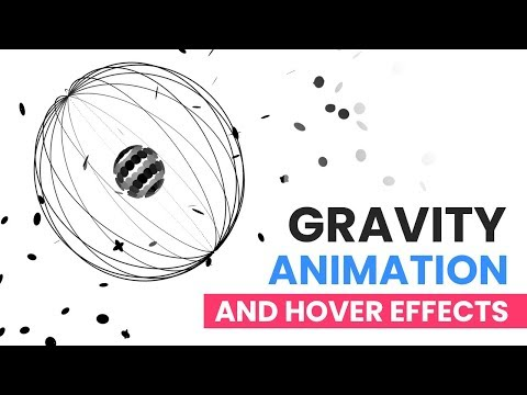 Gravity   Pure CSS Animation And Hover Effects