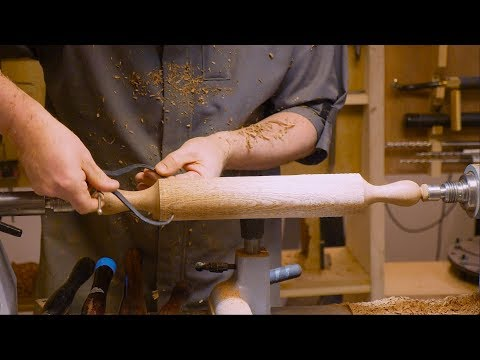 How to make a rolling pin - Demo by Colwin Way