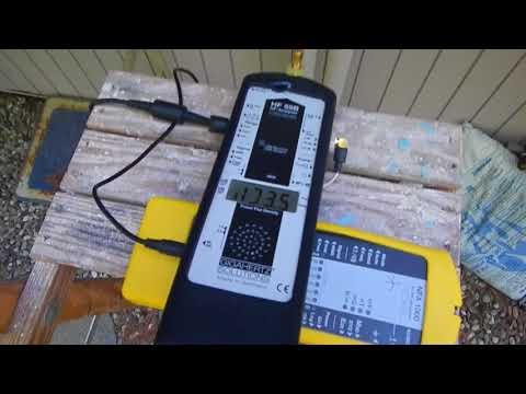 A Very Active RF Transmitting Utility Meter Filmed in Massachusetts