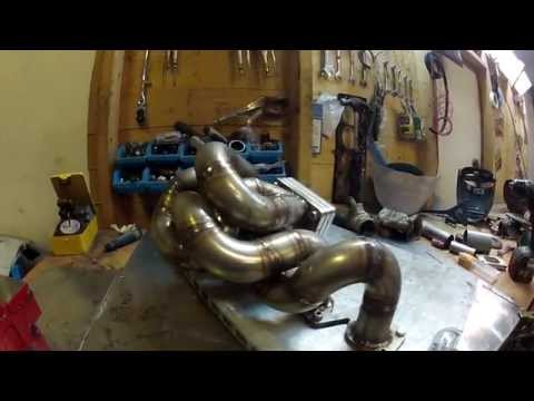 Extreme turbo exhaust manifold build