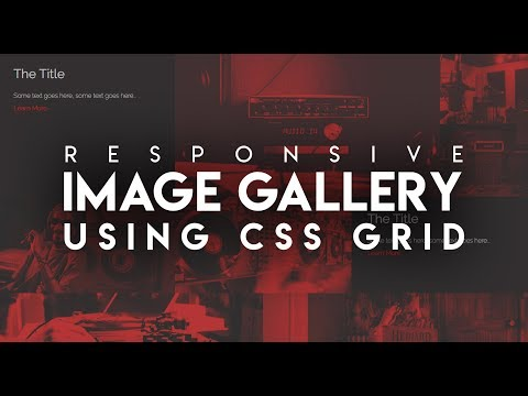 CSS Grid Image Gallery | HTML & CSS
