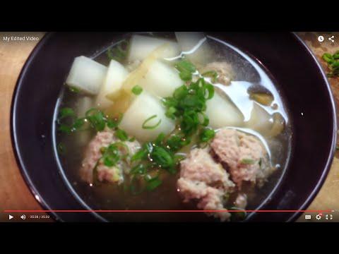 [0036] ground meat, daikon (meatball soup!)