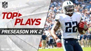 Top Plays of Week 2 | NFL Preseason Highlights