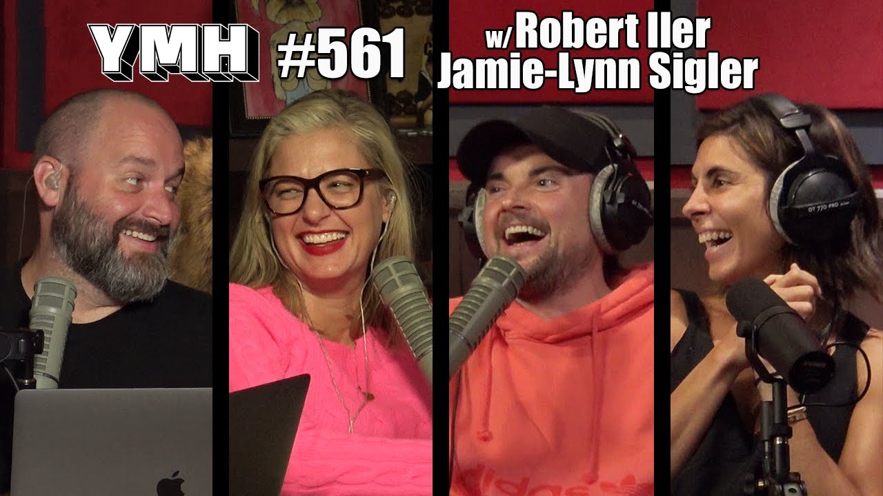Your Mom's House Podcast - Ep. 561 w/ Jamie-Lynn Sigler & Robert Iler