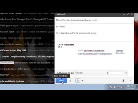How To Send Software Through Gmail