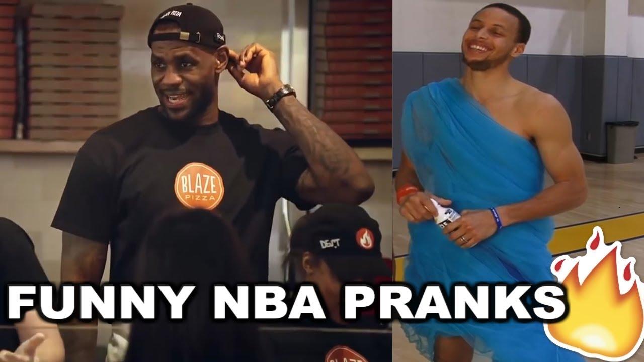 NEW BEST NBA Pranks 2017 Ft. LeBron James, Stephen Curry, James Harden...