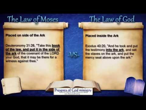 Q&A~ Moses' Law -vs- God's Law