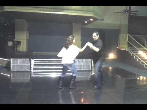 Bakersfield Salsa Classes, Emily Hernandez & Abraham Magana cumbia