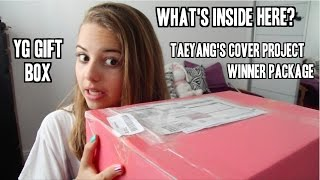 What I got for winning Taeyang's Cover Contest By You