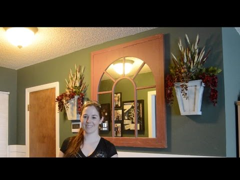 DIY Wooden Wall Sconces (Wall Mounted Flower Pots)